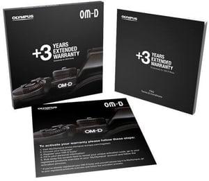 3 Jahre für alle OM-D Kameras