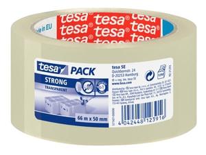 tesapack® strong 66m:50mm transparent