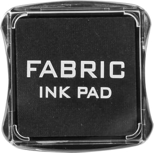Fabric Ink Pad, noir