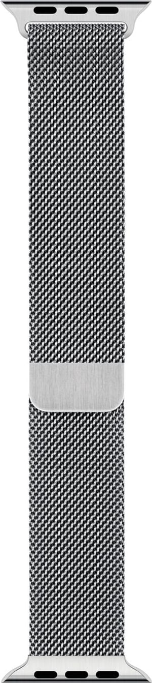 40mm Silver Milanese Loop