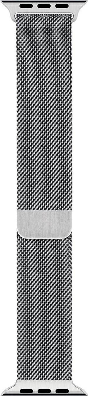 44mm Silver Milanese Loop