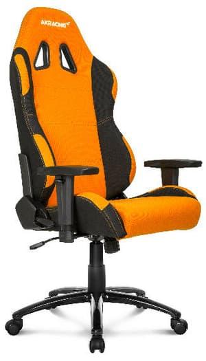 Prime siège de jeu orange / noir