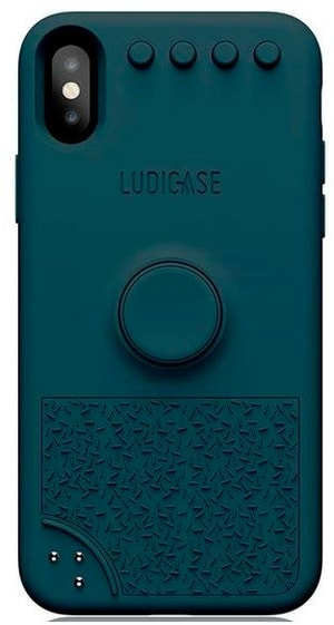Back Cover Ludicase Jungle Blue
