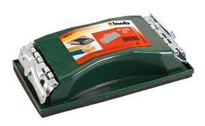 Levigatrice portatile professionale, con serraggio a molla, materiale sfuso