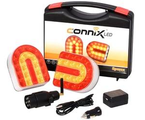 Set de feux LED arrières sans fil 12/24 V