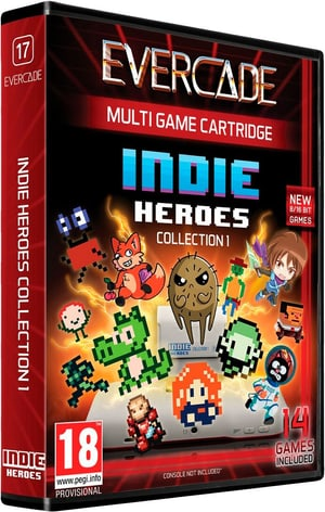 Evercade 17 - Indie Heroes Collection 1