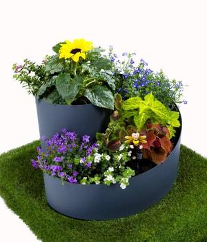 Spirale di plastica per erbe aromatiche