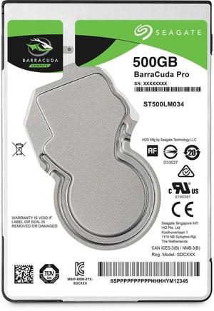 "BarraCuda Pro SATA 2.5"" 500 GB"