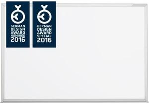 Design-Whiteboard emailliert 1200x900mm