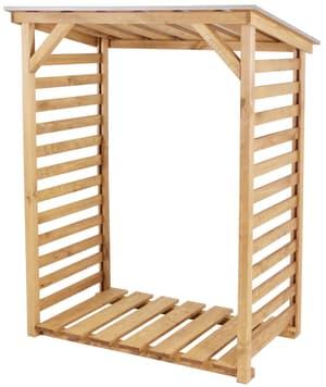 Scaffale per legna da caminetto