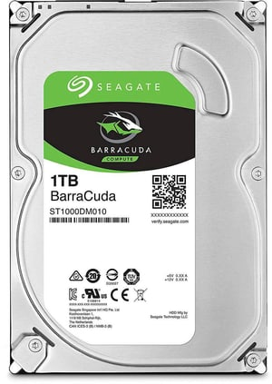 "BarraCuda SATA 3.5"" 1 TB"