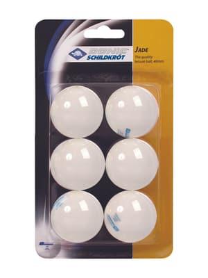 Balle de tennis de table, carte blister, 6 pieces