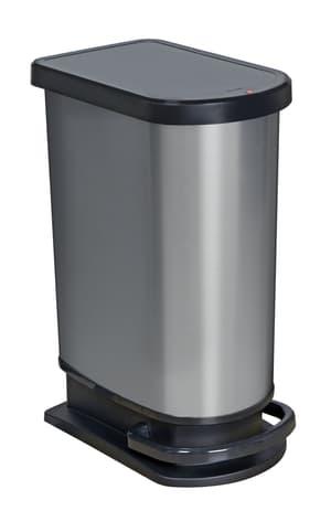 PASO Treteimer 50L carbon met.
