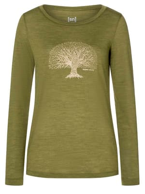 W Yoga Tree LS