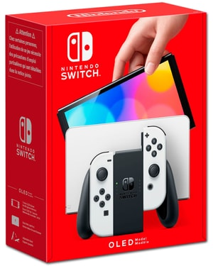 Nintendo Switch OLED - Weiss