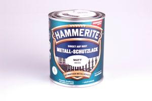 Pittura per metalli opaco bianco 750 ml