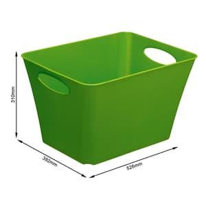 LIVING Box 44l, Plastica (PP) senza BPA, verde