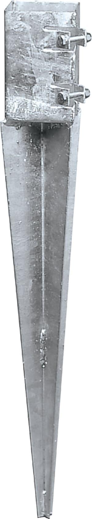 Einschlagbodenhülse «Quick» für 9 x 9 cm