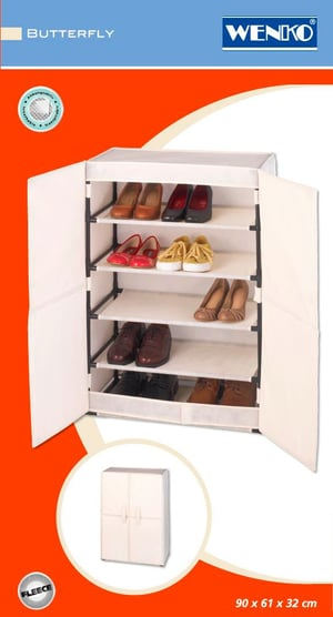 Armoire À Chaussures Butterfly 15 Paires