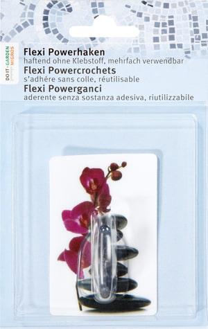 Flexi Powerhaken Orchidee