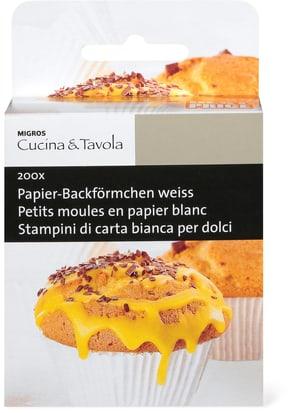 Papier-Backförmchen