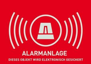 Autocollant télésurveillance (allemand)