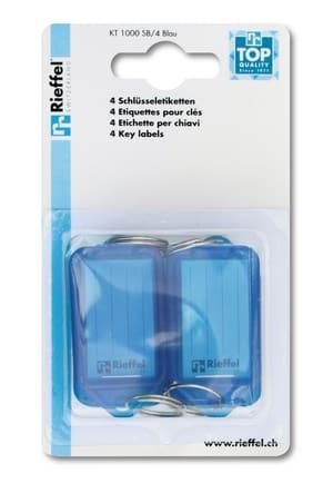 Etichette  azzuro, 4 pezzi