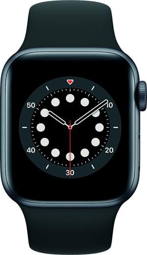 Watch Series 6 GPS 40mm Space Gray Aluminium Black Sport Band
