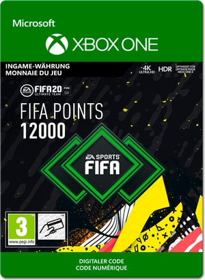 Xbox One - FIFA 20 Ultimate Team: 12000 Points