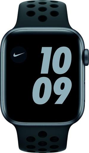Watch Nike SE GPS 44mm Space Gray Aluminium Anthracite/Black Nike Sport Band