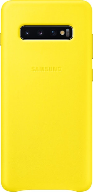 Leather Cover Yellow