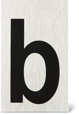 Placca porta lettera b