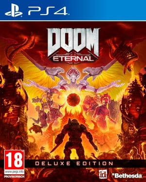 PS4 - DOOM Eternal Deluxe Edition D