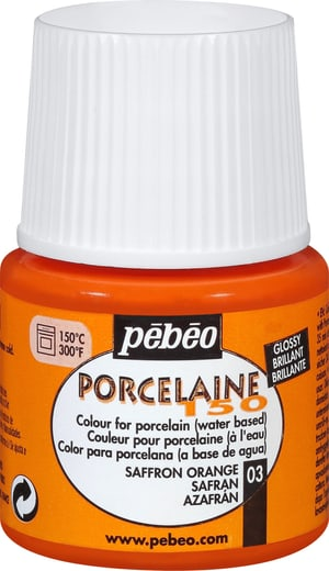 Pébéo Porcelaine 150 safran orange 03