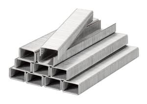 Klammern, Feindraht, Stahl, 11,4 mm x 14 mm