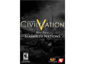 PC - Sid Meier's Civilization V: Scrambled Nations Map Pack