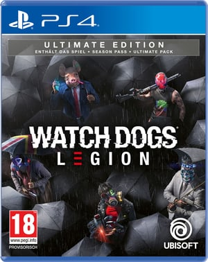 PS4 - Watch Dogs: Legion - Ultimate Edition