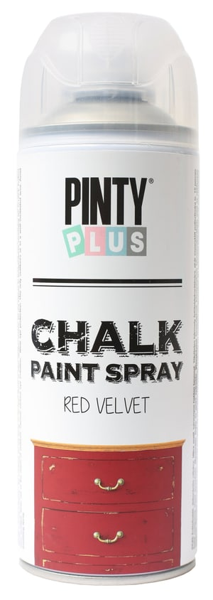 Chalk Paint Spray Red Velvet