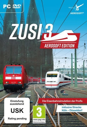 PC - Zusi Aerosoft Edition + Strecke Köln-Düsseldorf D