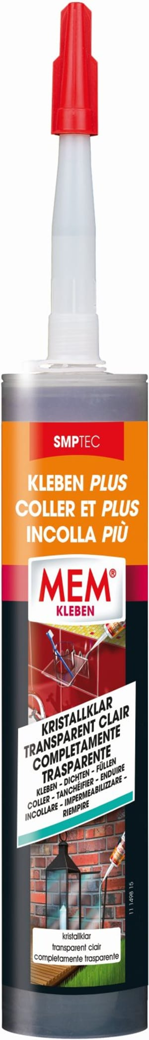 Coller et plus, transparent clair 300 g
