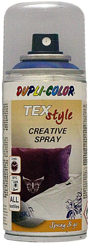Peinture pour textile bleu