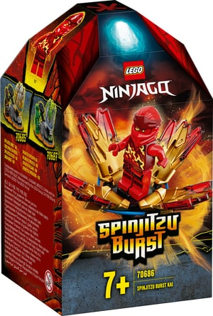NINJAGO Spinjitzu Attack - Kai 70686