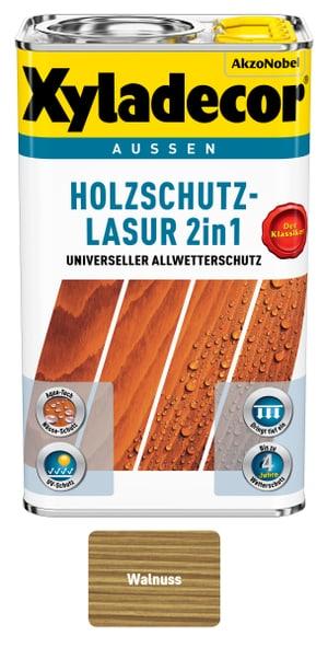 Holzschutzlasur Walnuss 750 ml