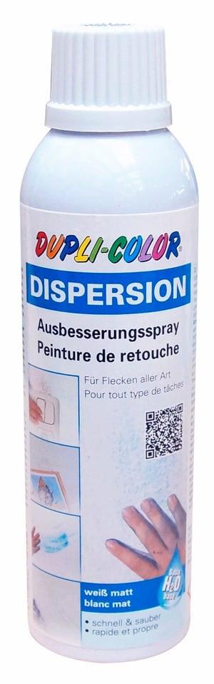 Spray de retouche recouvrable avec des dispersions