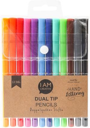 Dual Tip Pencils, auf Wasserbasis, 12 Stk.
