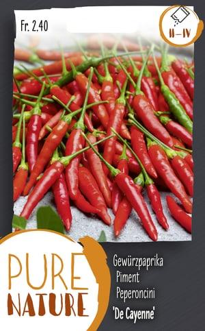 Peperoncini 'De Cayenne' 0.75g