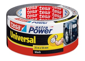 extra Power® Universal 25m:50mm noir