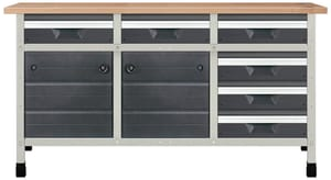 Werkbank No. 5 1610 x 650 x 860 mm 8079
