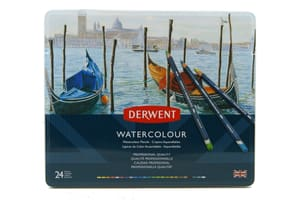 24 Derwent Watercolor Aquarellstifte