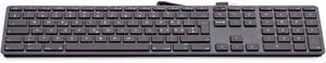USB clavier numérique KB-1243-SG gris space CH-Layout